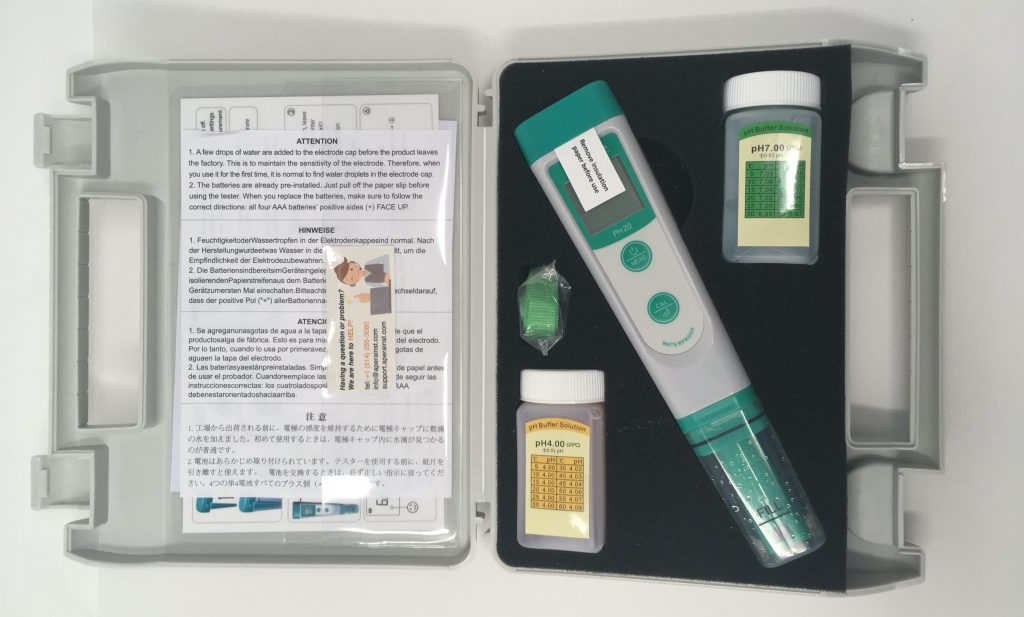 apera ph20 ph testing kit